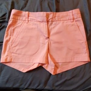 J. Crew Pink Shorts Size 0